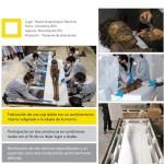 Transporte de una momia guanche al Museo Arqueológico Nacional