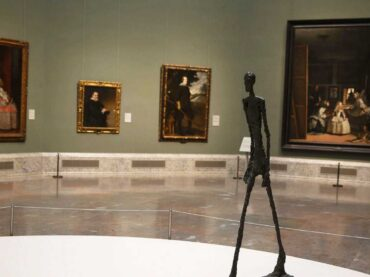 Alberto Giacometti en el Museo del Prado