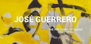 José Guerrero. The presence of black
