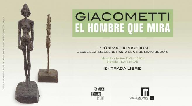 Giacometti. El hombre que mira