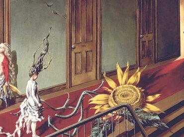 Dorothea Tanning: Detrás de la puerta, invisible, otra puerta.